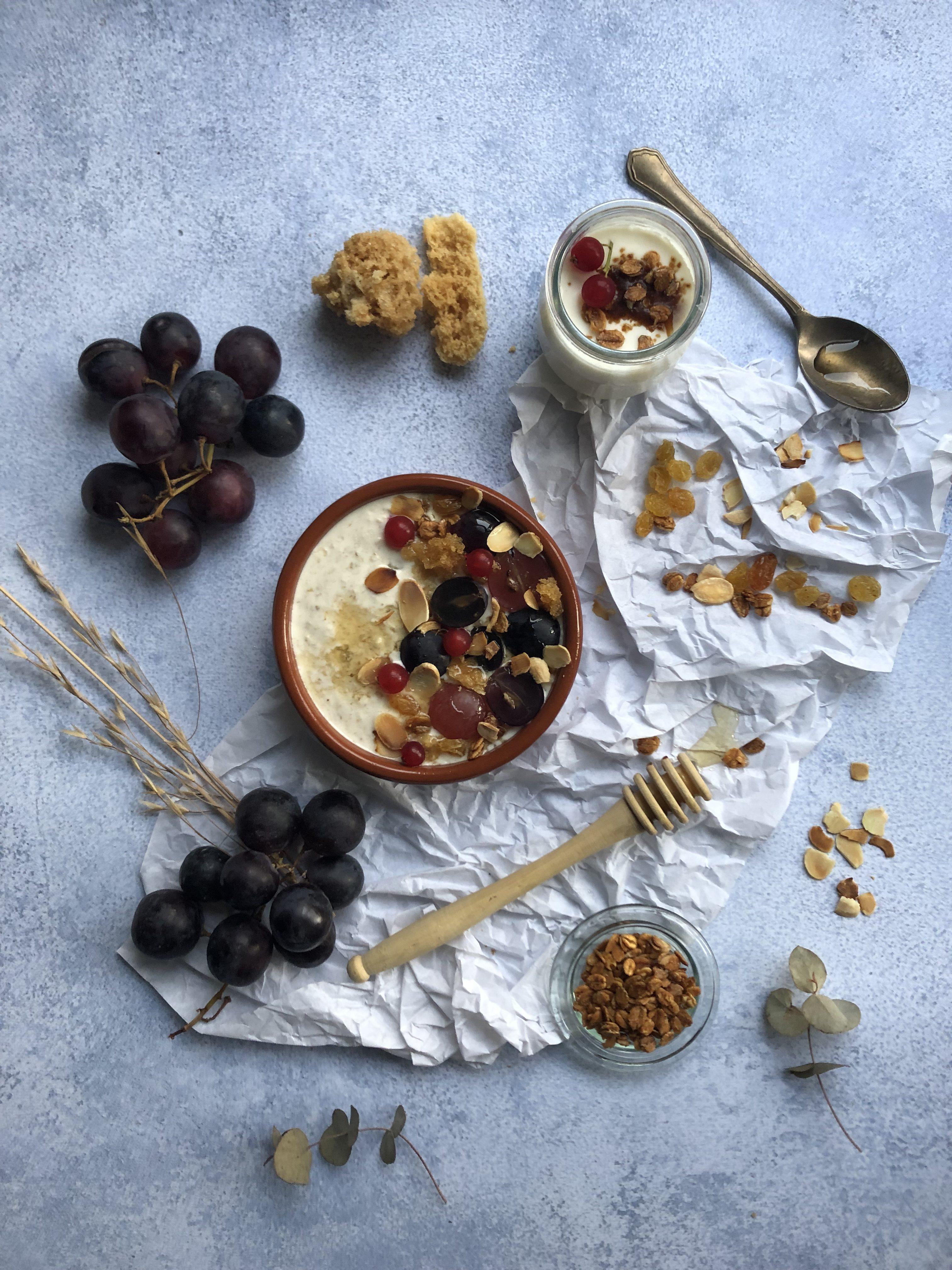 Porridge miel, raisin et malt