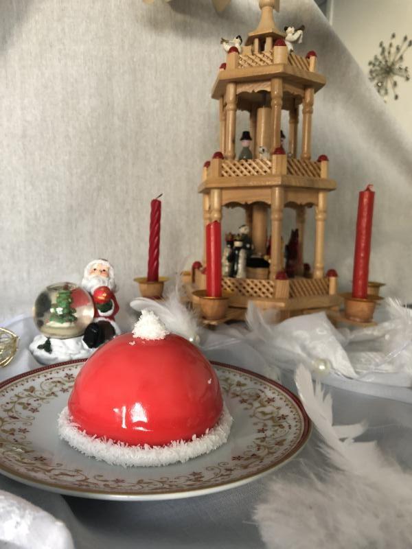 Bonnet de Père Noël [tiramisu – Noël 2020]